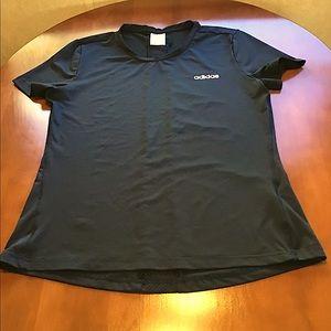 Adidas Climalite Gym T-Shirt - Black